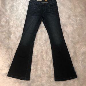EUC Pilcro and Letterpress STET SZ 27 Flare Jeans